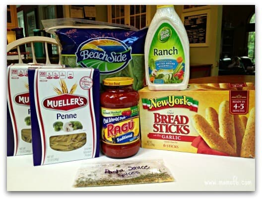 Pasta Night- what you'll need