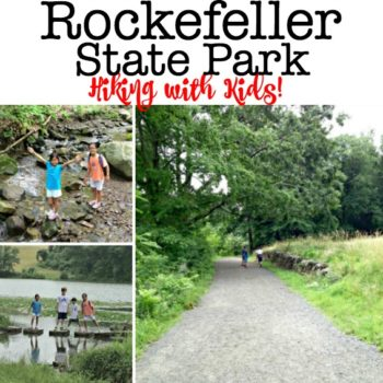 Rockefeller State Park: Hiking with Kids!
