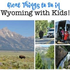 4 Amazing Things to Do in Wyoming with Kids!