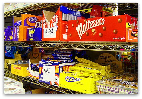 british candy