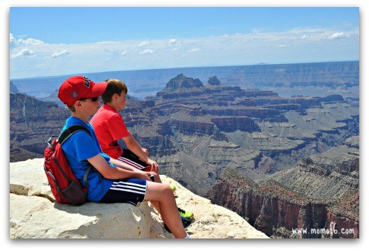 I always lean towards choosing a lesser populated spot at a major vacation destination. I think it's harder to experience a place when you are fighting for elbow room at a lookout point, which is why the Grand Canyon North Rim appealed to me. This post shares our amazing experience here- and shares why this should be on very family bucket list!