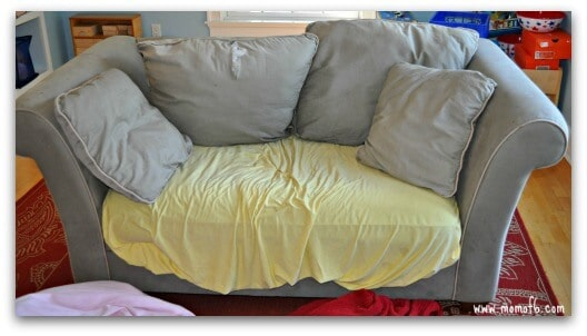Kids Space Makeover- sofa
