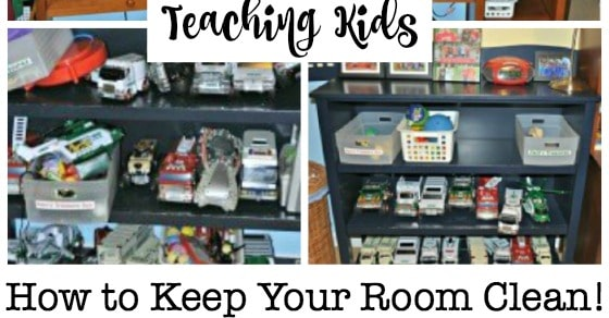 Teaching Kids How To Keep Your Room Clean In 4 Easy Steps