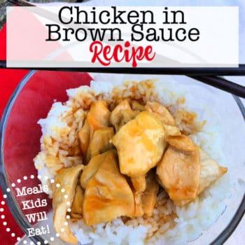 Chicken in Brown Sauce
