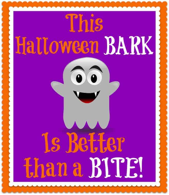 Halloween Bark Tag