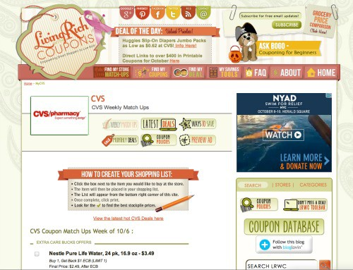 Living Rich with Coupons- CVS