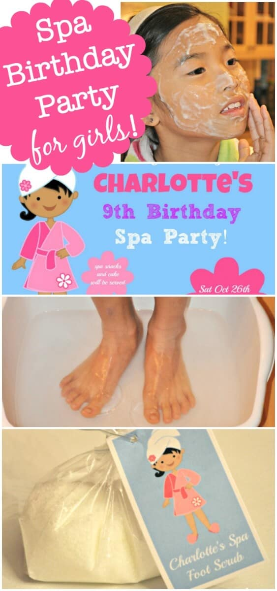 Fantastic Ideas For Hosting A Spa Birthday Party At Home This Post Includes Free Printable