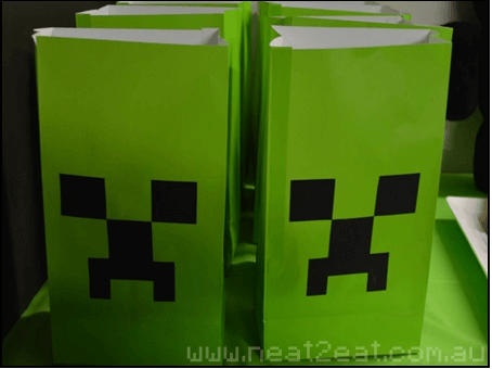 Minecraft goodie bags