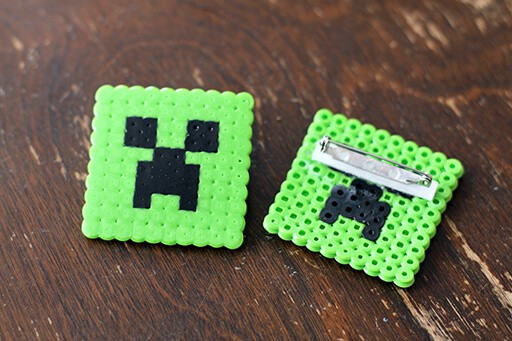 Minecraft creeper pins
