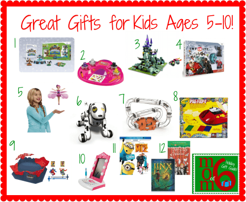 Great Gifts for Kids Ages 5-10 5-10! - MomOf6