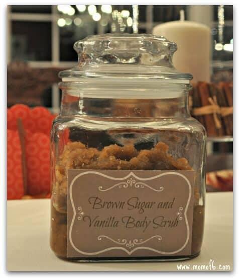 Vanilla gifts- brown sugar and vanilla body scrub