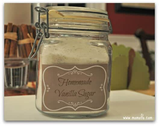 Vanilla gifts- vanilla sugar