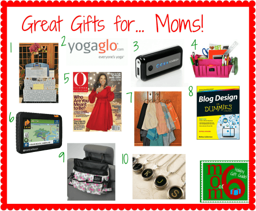 10 great holiday gifts for moms momof6 for Great present for mom