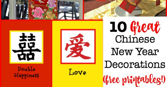 10 Great Ideas for Chinese New Year Decorations! {With ...