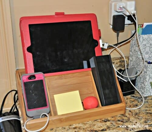 5 Ideas for Charging Stations and Wrangling Cord Clutter!