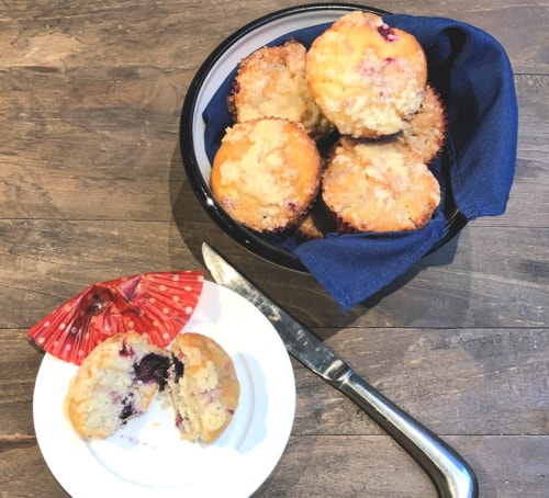 homemade muffin recipe