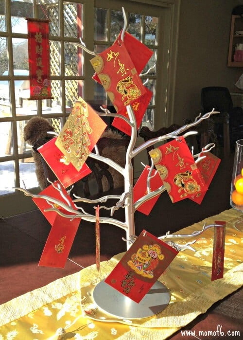 Create A Hong Bao Tree