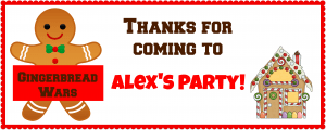 Alex's Gingerbread Wars Box Tag