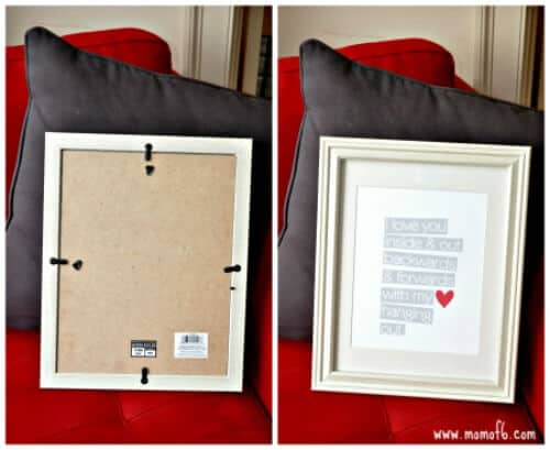 Repaired Picture Frame