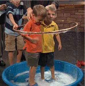 Steve Spangler- Giant Bubble Experiment