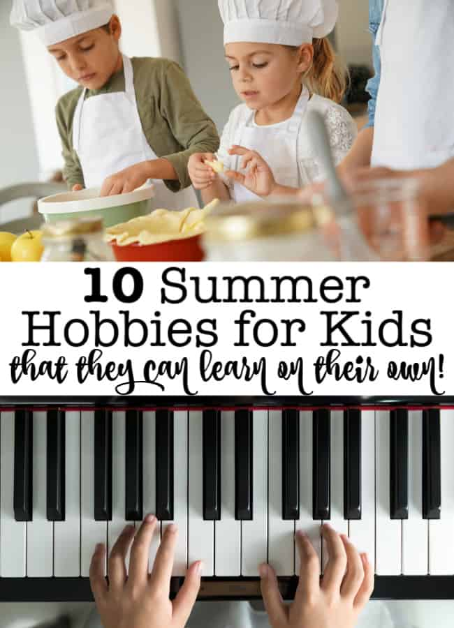 What if you gave your kids permission for screen time- as long as it was helping them to learn a new skill? Here are 10 summer hobbies for kids- that they can learn on their own via an online class!