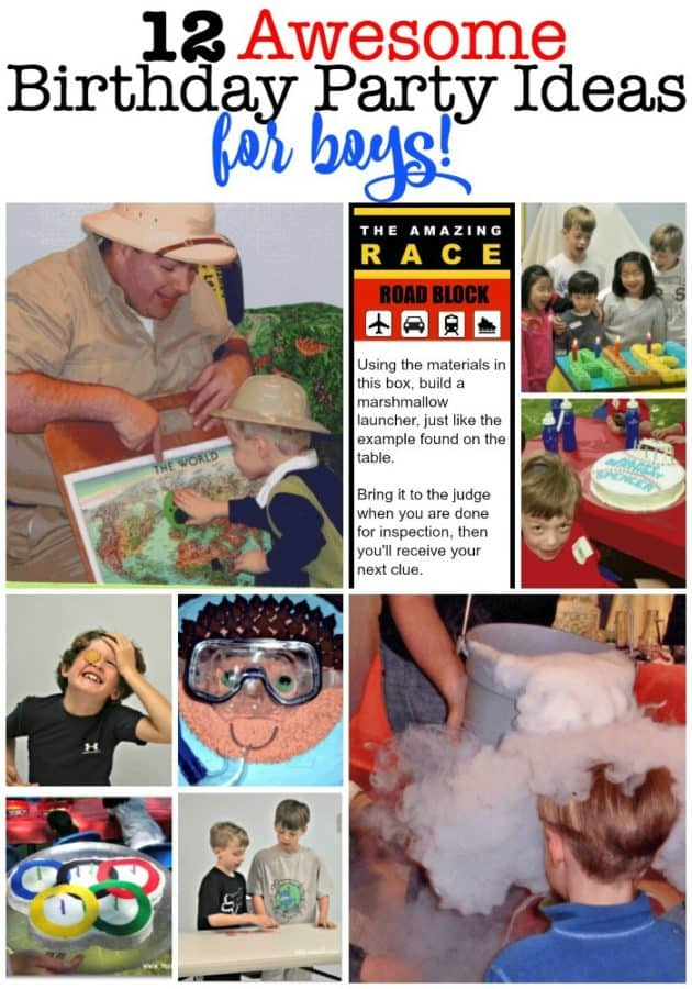 Birthday Party Ideas For Boys I Love Creating Magical Days Of Fun My Kids And Their Friends That Are Easy