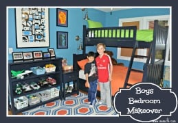 Boys Bedroom Makeover!