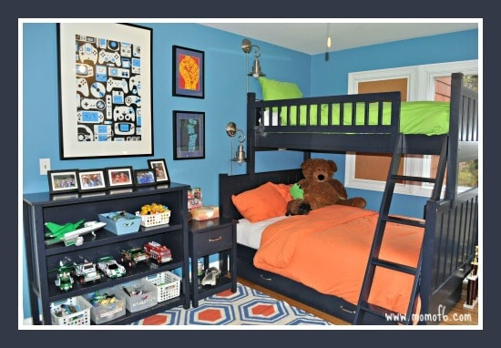 Boys Bedroom Makeover! - MomOf6