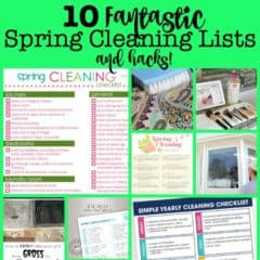 Spring Cleaning Lists and Hacks!