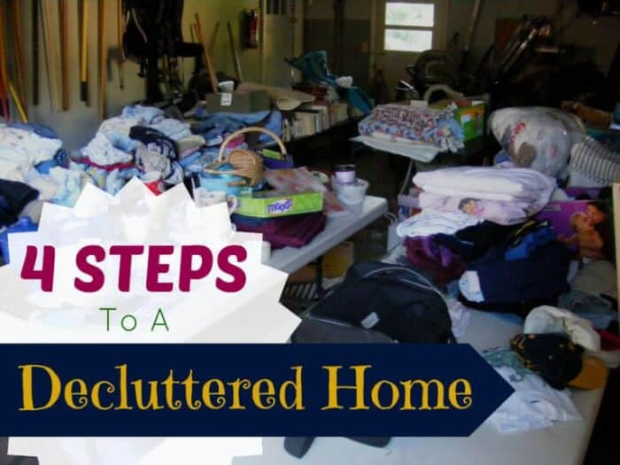4 Steps To Declutter Your Home