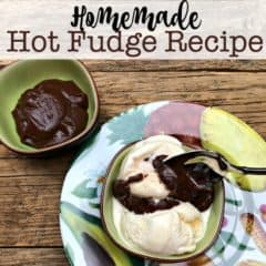 Homemade Hot Fudge Recipe!