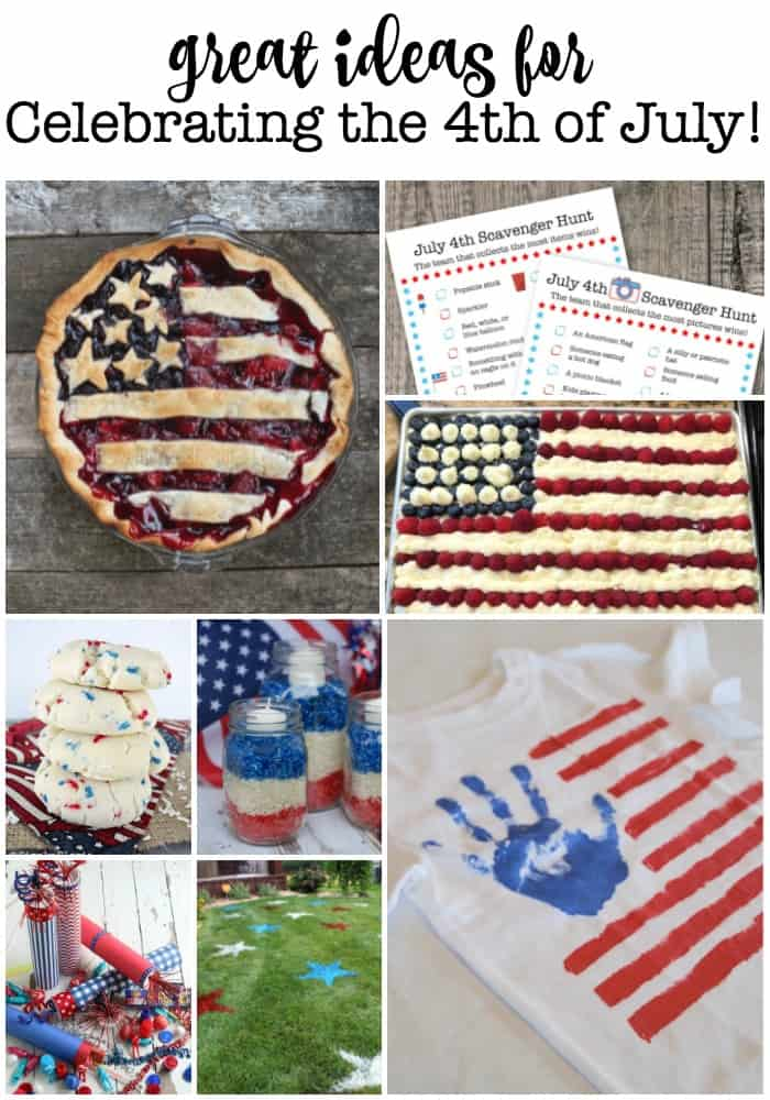 As a busy Mom, it can be hard to find small ways to make a holiday feel special for your family. Sometimes all it takes is a little inspiration! So here are some great ideas for celebrating the 4th of July!