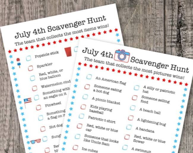 July 4th party games