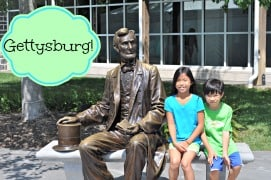 A Summer History Lesson for the Kids {Gettysburg}