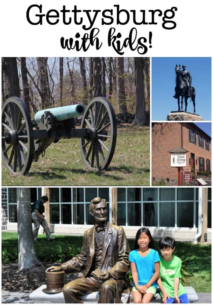Gettysburg is a city rich in history with lots for kids to see and learn, and also has some fun things to do. Here's why you should take a family road trip to see Gettysburg with kids!