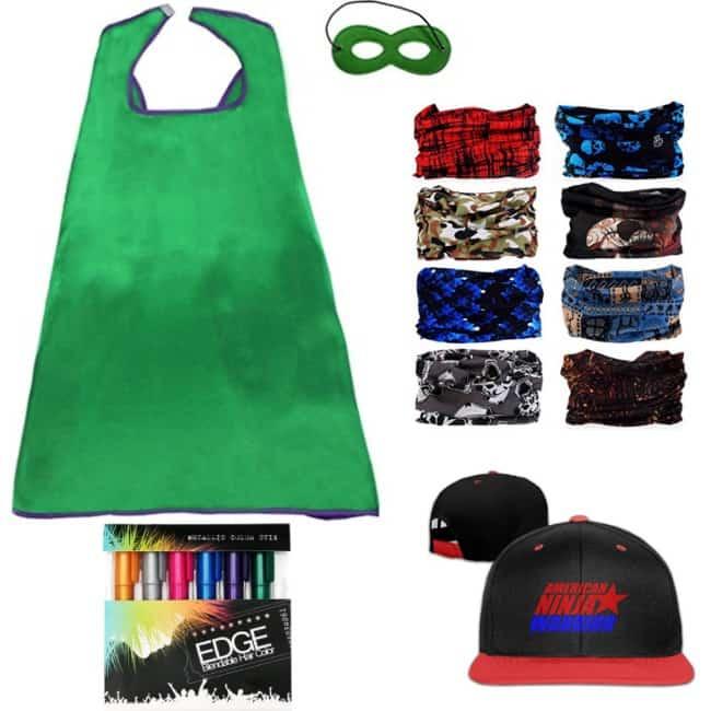 ninja warrior course costumes