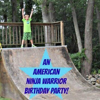 American Ninja Warrior Birthday Party Momof6
