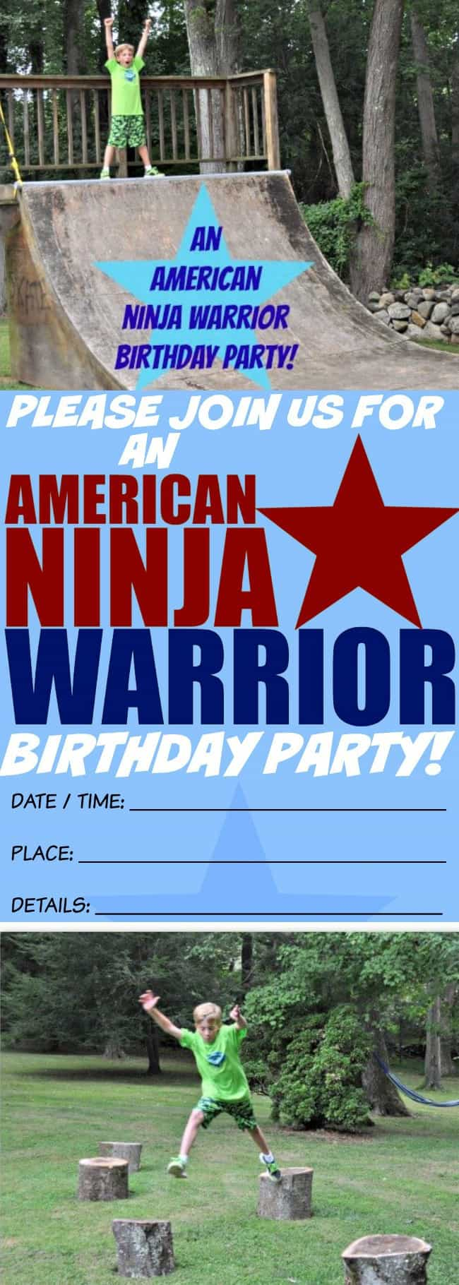 american ninja warrior birthday party momof6