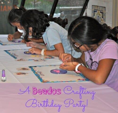 A Beados Craft Birthday Party!