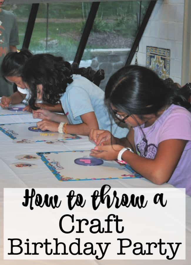 I love to plan birthday parties around cool craft kits, and my daughter Lili loves Beados, so I thought it would be fun to create a craft party, using Beados as our theme!
