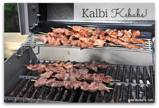 A flavorful Korean marinade makes these kalbi kebabs taste amazing!