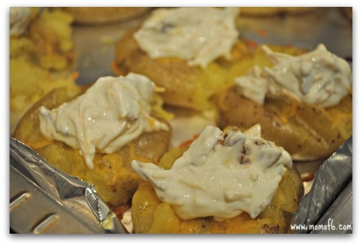 Loaded Smashed Potatoes Finished1