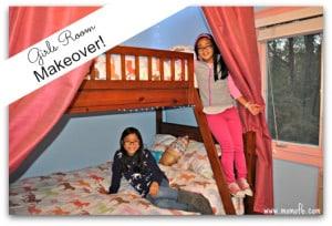 Our Girls Bedroom Makeover!