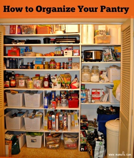 How To Set Up A Food Pantry How To Organize Your Pantry