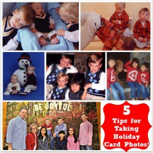 5 Tips for Taking Holiday Card Pictures {Pear Tree Greetings Giveaway}