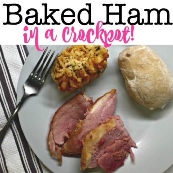 Baked Ham in a Crockpot!