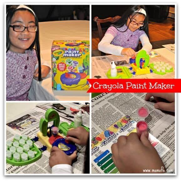 crayola paint maker instructions