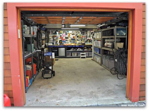 Garage After- room for a car