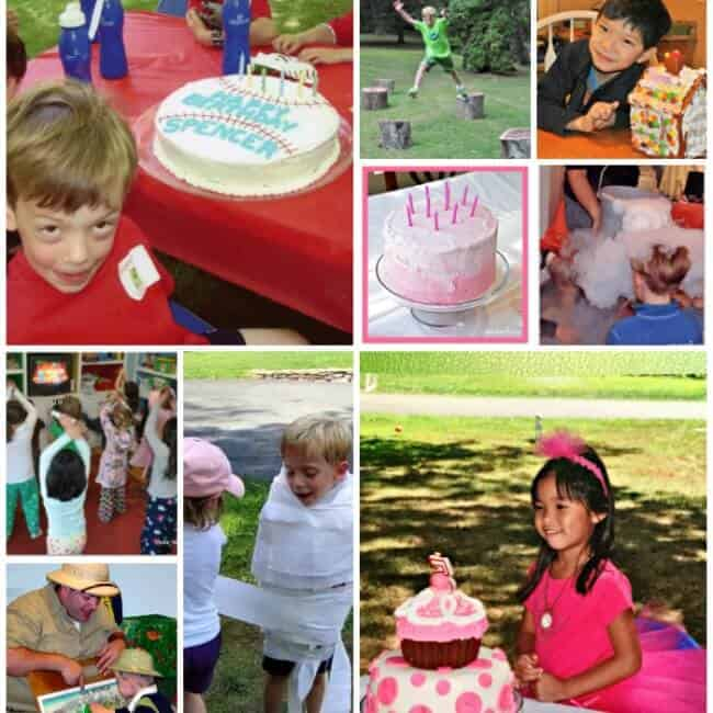 How To Throw Kids Birthday Parties At Home