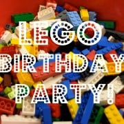 A Lego Birthday Party!
